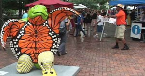 First Wednesday Art Walk at Hemming Plaza, Jacksonville